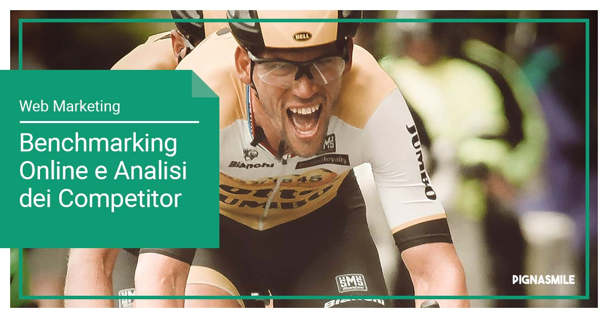benchmarking-online-analisi-competitor-pignasmile-ciclista-gara